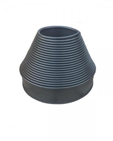 Садовый пластиковый бордюр цвет Черный