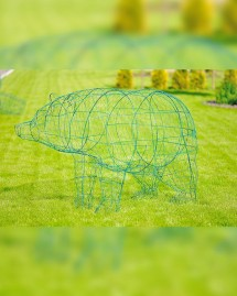 Архитектурная форма для ландшафтного дизайна Медведь